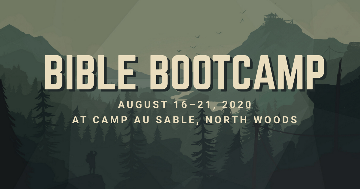 2020 Bible Bootcamp